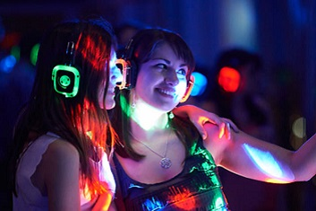 Silent Disco Corporate Event Production and Live Entertainment for Corporate Events Imprint Group Denver Florida Las Vegas Live Bands Interactive Entertainment Best Corporate Entertainment