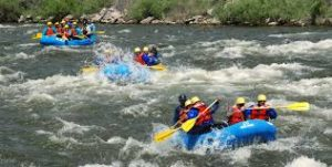 White Water Rafting in Colorado Springs with DMC Imprint Group