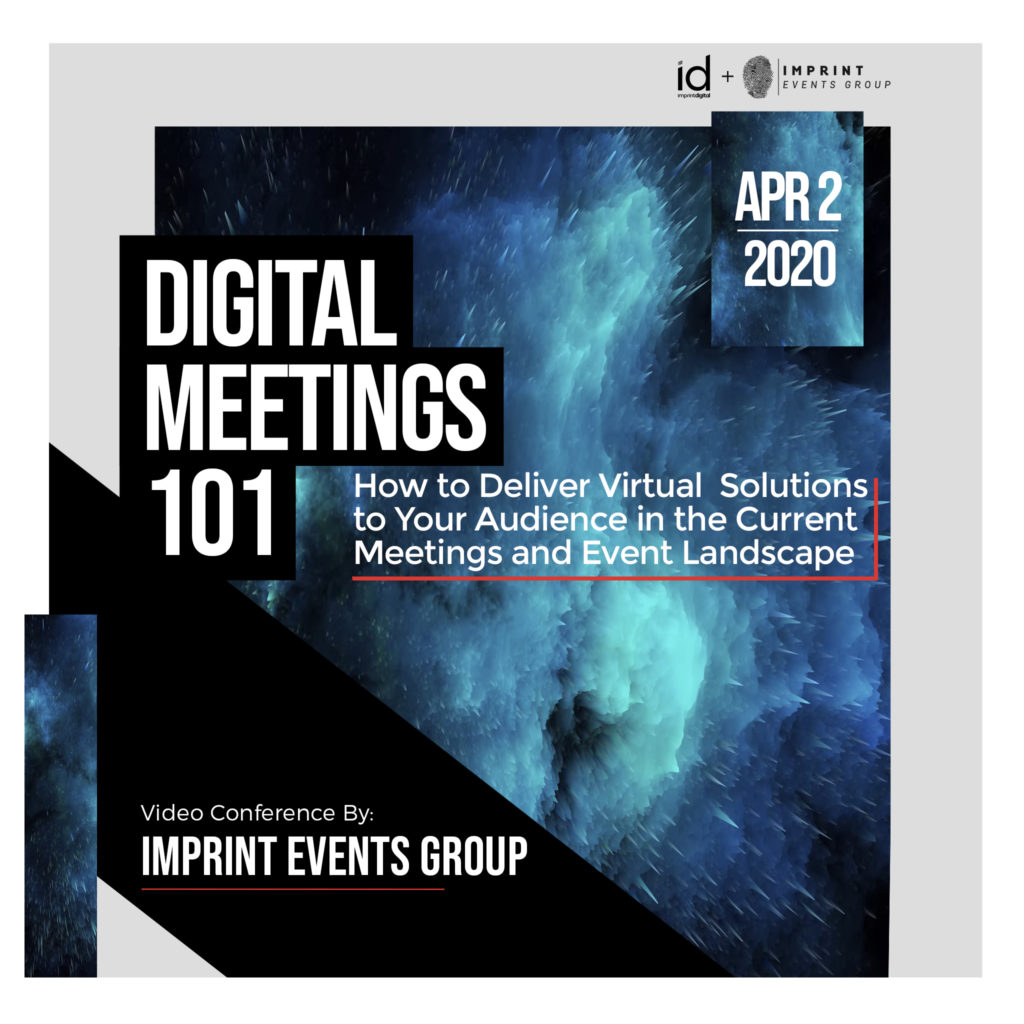 Digital Meetings 101 for Hosting a Successful Virtual meeting or digital event